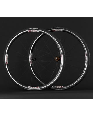 Leeze AC 25 Laufräder Drahtreifen mit Reifen Continental Grand Prix 4000 S II