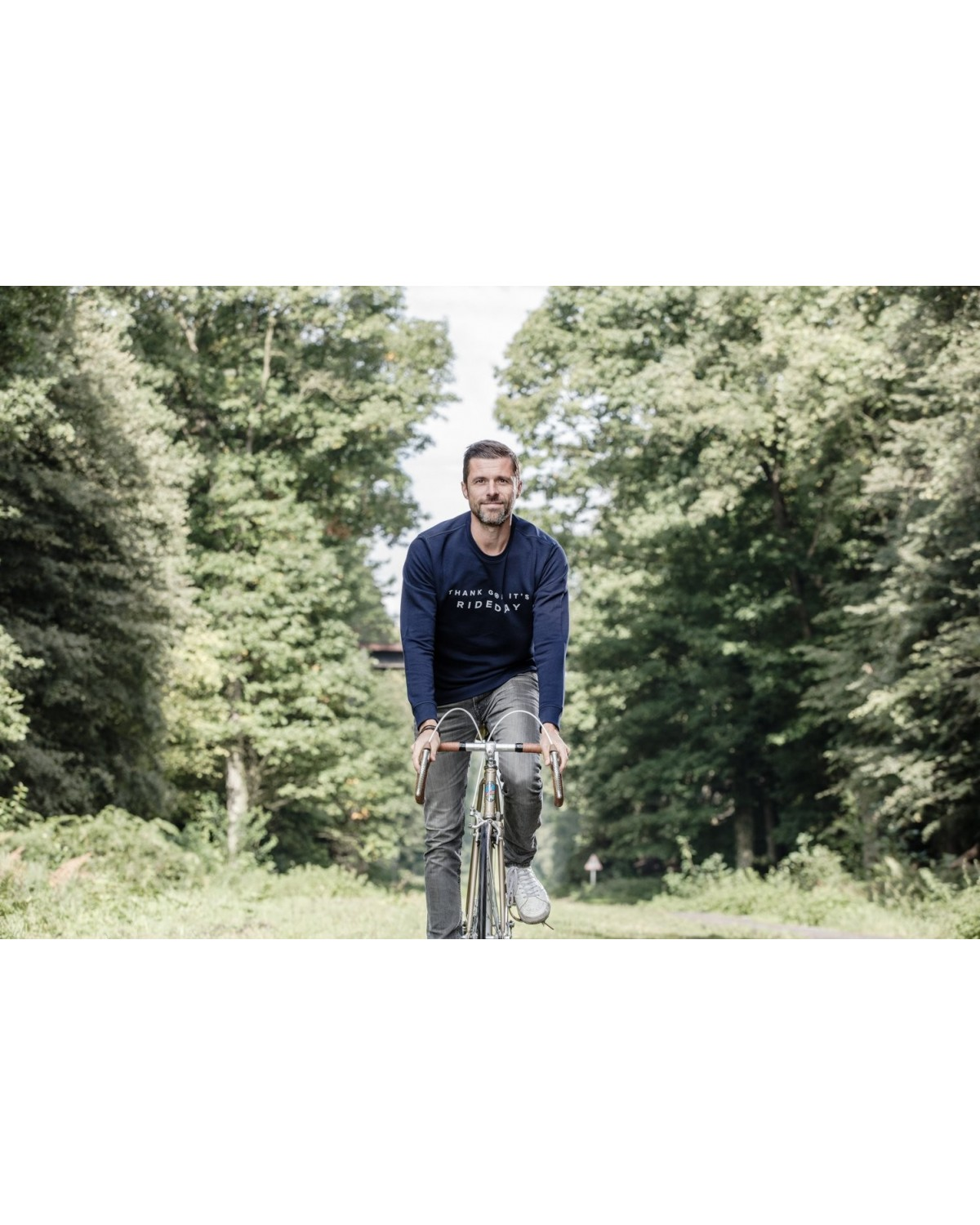 Sweater Rideday Navyblau Cois Cycling