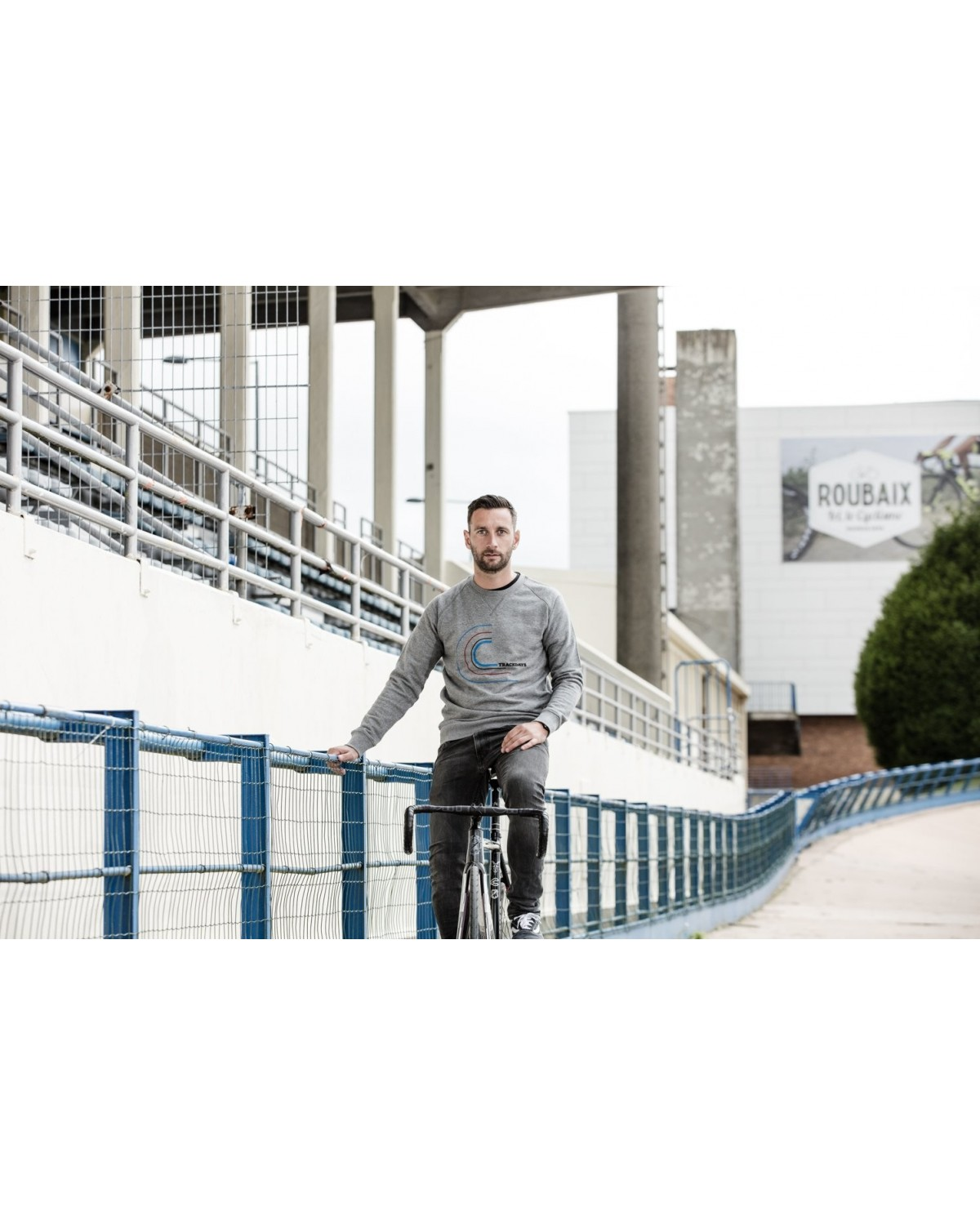 Sweater Trackday Navyblau Cois Cycling