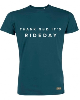 T-Shirt Rideday blau Cois Cycling