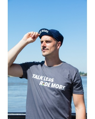T-Shirt Talk Less Ride More Cois Cycling