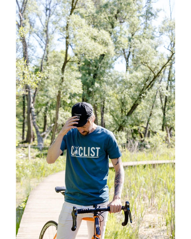 T-Shirt Talk Cyclist Cois Cycling