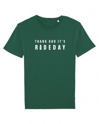 T-Shirt Rideday 2.0 grün Cois Cycling