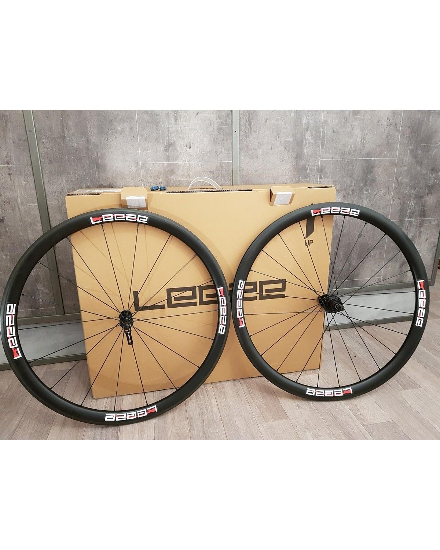 Leeze CC 38 Laufräder ohne Reifen - TESTLAUFRADSATZ