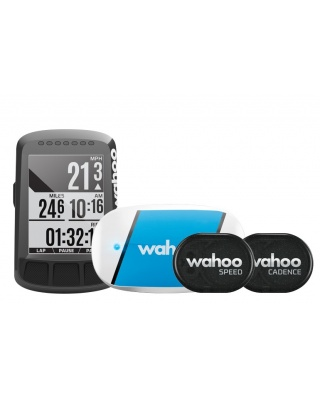 Wahoo Fitness ELEMNT BOLT GPS + TICKR + RPM Bundle - Fahrradcomputer
