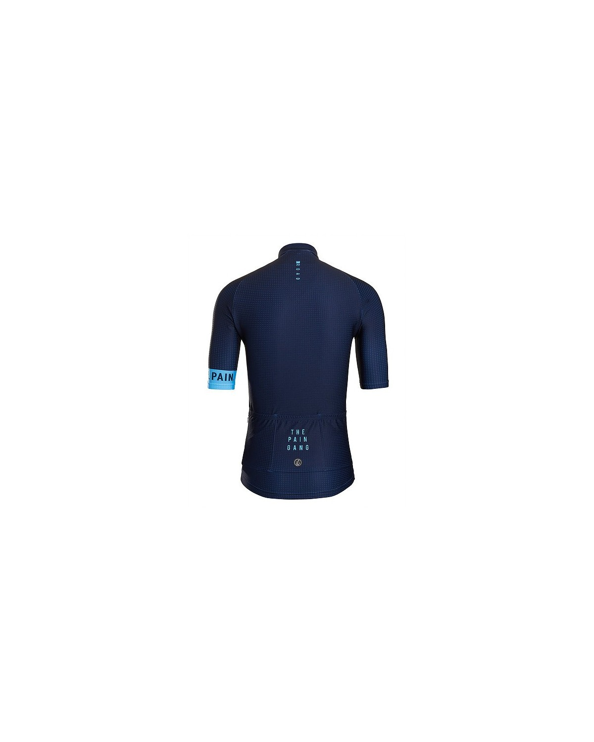 grade cycling Radtrikot king of the road blau
