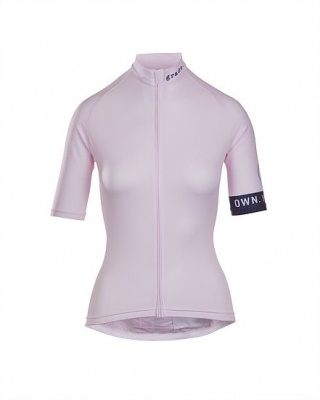 grade cycling Damen Radtrikot king of the road pink
