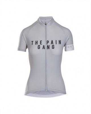grade cycling Damen Radtrikot Hors catégory pain gang team